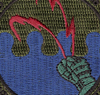 43rd Communications Squadron Patch Hook And Loop - Center