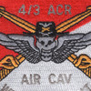 4/3 ACR Nomad Patch - AIR CAV | Center Detail