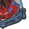 432nd TAC Drone Group Patch   Lower Right Quadrant