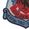 432nd TAC Drone Group Patch | Lower Left Quadrant