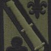 42nd Field Artillery Brigade Patch OD ACU | Center Detail
