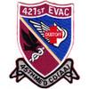 421st Medical Company Air Ambulance Evac 159th Aviation Regiment Patch