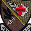 421st Medical Company 159th Aviation Regiment Patch OD | Center Detail