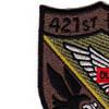 421st Medical Company 159th Aviation Regiment Patch OD | Upper Left Quadrant