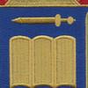 420th Infantry Regiment Patch | Center Detail
