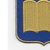 420th Infantry Regiment Patch | Lower Left Quadrant