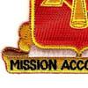 41st Field Artillery Regiment Patch | Lower Left Quadrant