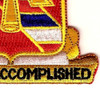 41st Field Artillery Regiment Patch | Lower Right Quadrant