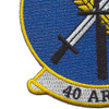 40th Aerospace Rescue & Recovery squadron Patch | Lower Left Quadrant