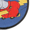 404th Fighter Squadron Patch Hook And Loop | Lower Right Quadrant