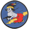 404th Fighter Squadron Patch Hook And Loop
