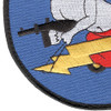 404th Fighter Squadron Large Patch Hook And Loop | Lower Left Quadrant