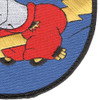 404th Fighter Squadron Large Patch Hook And Loop | Lower Right Quadrant