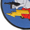 404th Fighter Squadron Large Patch | Lower Left Quadrant