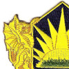 404th Chemical Brigade Patch | Upper Left Quadrant