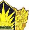 404th Chemical Brigade Patch | Upper Right Quadrant