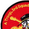 3rd Squadron 17th Cavalry Regiment Patch | Upper Left Quadrant