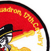 3rd Squadron 17th Cavalry Regiment Patch | Upper Right Quadrant