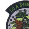 3rd Squadron 158th Avaition Regiment A Company Patch | Upper Left Quadrant