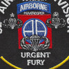 82nd Airborne Division Urgent Fury Grenada Patch | Center Detail