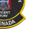 82nd Airborne Division Urgent Fury Grenada Patch | Lower Right Quadrant