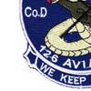 3rd Squadron 126th Aviation Regiment D Company Patch | Lower Left Quadrant