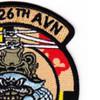 3rd Squadron 126th Aviation Regiment B Company Patch - B Version | Upper Right Quadrant