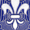 82nd Airborne Division Patch HQ Headquarters   Center Detail