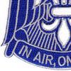 82nd Airborne Division Patch HQ Headquarters   Lower Left Quadrant