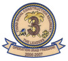 3rd Naval Construction Regiment Patch- Operation Iraqi Freedom