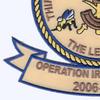 3rd Naval Construction Regiment Patch- Operation Iraqi Freedom | Lower Left Quadrant