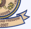 3rd Naval Construction Regiment Patch- Operation Iraqi Freedom | Lower Right Quadrant