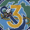 3rd Mobile Construction Battalion Patch | Center Detail