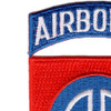 82nd Airborne Division Patch | Upper Left Quadrant