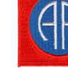 82nd Airborne Division Patch | Lower Left Quadrant