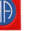 82nd Airborne Division Patch | Lower Right Quadrant