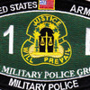 3rd Military Police Group Military Occupational Specialty MOS Rating Patch 31 B Military Police | Center Detail