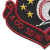 3rd Military Intelligence Aviation Battalion A Company Patch   Lower Left Quadrant