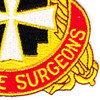 3rd Medical Command Patch | Lower Right Quadrant