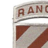 3rd Infantry Division Patch Ranger Desert | Upper Left Quadrant