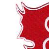 3rd Infantry Brigade 9th Division Patch   Upper Left Quadrant