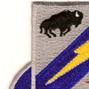 3rd Infantry Brigade 3rd Division Special Troops Battalion Patch | Upper Left Quadrant
