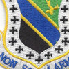 3rd Fighter Wing Shield Patch | Center Detail