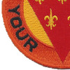 3rd Field Artillery Division Patch | Lower Left Quadrant