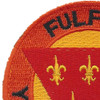 3rd Field Artillery Division Patch | Upper Left Quadrant