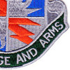 3rd Brigade 25th Infantry Division Special Troop Battalion Patch   Lower Right Quadrant