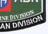 82nd Airborne Division MOS Patch | Lower Right Quadrant