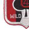 3rd Battalion Of The 60th Infantry Regiment Patch 4 U Wild One | Lower Left Quadrant