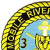 3rd Battalion 47th Infantry Regiment Mobile Riverine Force Patch | Upper Left Quadrant