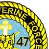 3rd Battalion 47th Infantry Regiment Mobile Riverine Force Patch | Upper Right Quadrant